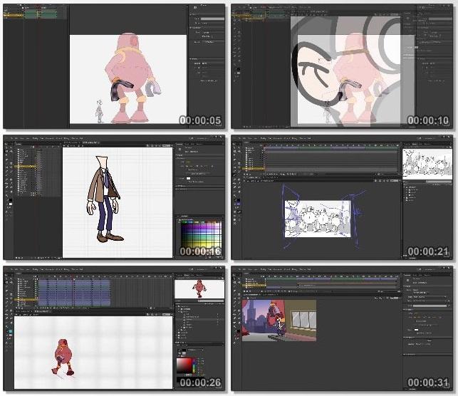 دانلود دوره آموزشی Animate CC: Animating Scenes از Lynda