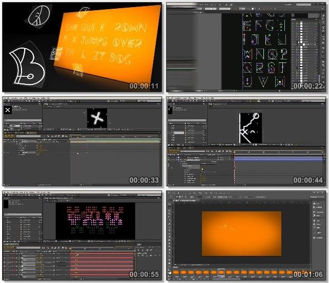 دانلود دوره آموزشی Creating an Animated Typeface in After Effects از Pluralsight