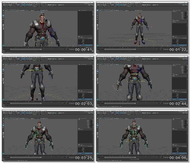 دانلود دوره آموزشی The Gnomon Workshop - Combat Animation for Games