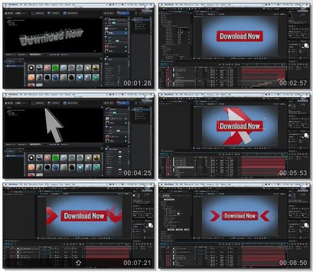 دانلود دوره آموزشی Create 3D Videos in After Effects & Element 3D از Udemy