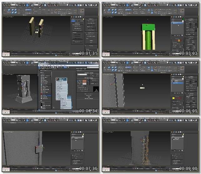 دانلود دوره آموزشی Designing a Modular Structure for Games in 3ds Max