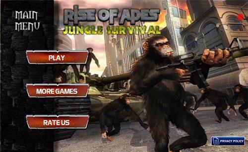 دانلود بازی Apes Hunter Jungle Survival