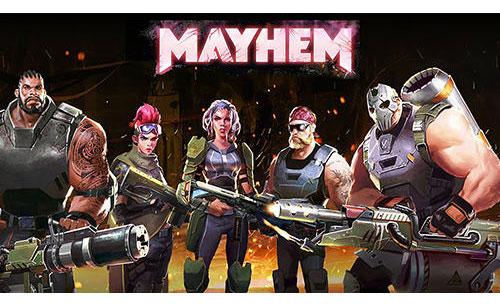 دانلود بازی آنلاین تیراندازی چند نفره Mayhem برای اندروید