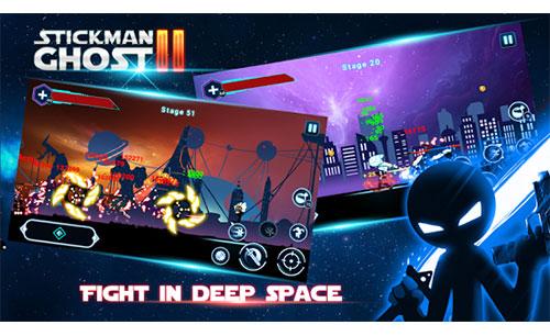 دانلود بازی Stickman Ghost 2: Galaxy Wars برای اندروید و iOS