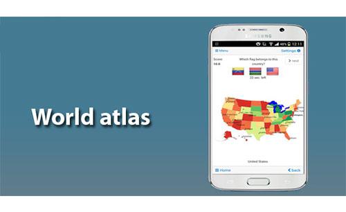 دانلود نرم افزار World atlas and world map MxGeo برای اندروید و iOS