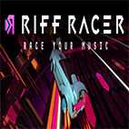 Riff Racer Race Your Music Logo