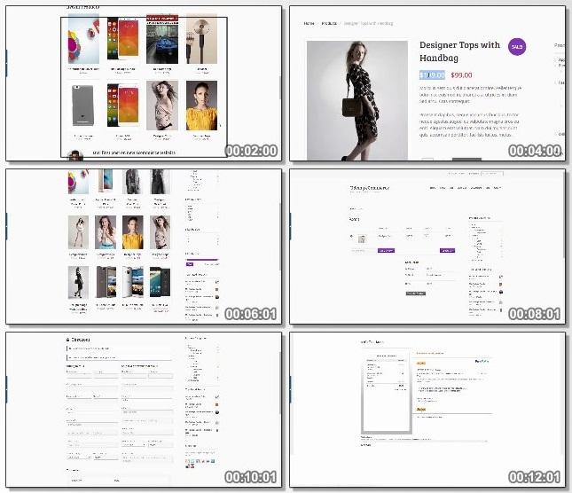 دانلود دوره آموزشی WordPress for E-Commerce: The Complete WooCommerce Course