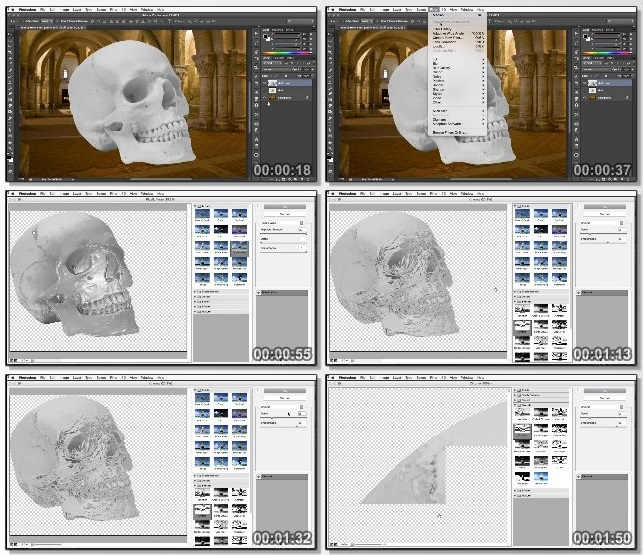 دانلود دوره آموزشی Building Transparency in Photoshop از Lynda