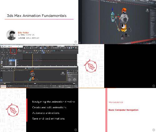 Pluralsight - 3ds Max Animation Fundamentals center