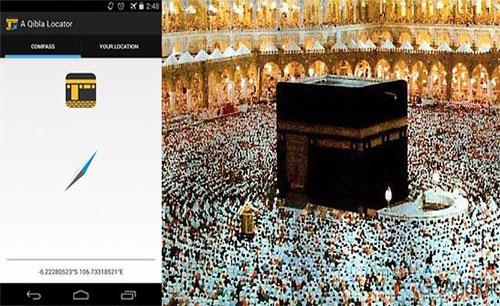 دانلود نرم افزار A Qibla Locator
