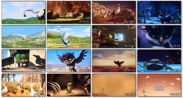 تصویر قسمت هایی از A Storks Journey 2017