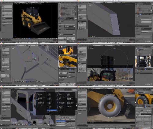 Blender Hard Surface Modeling center