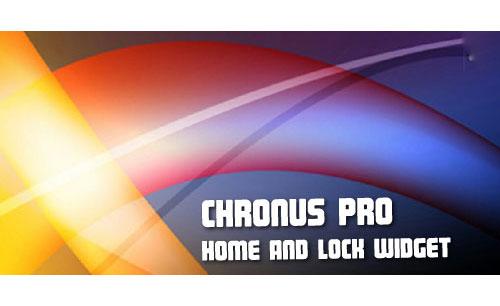 دانلود نرم افزار Chronus: Home & Lock Widgets برای اندروید