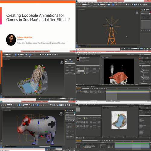 Creating Loopable Animations for Games in 3ds Max and After Effects center