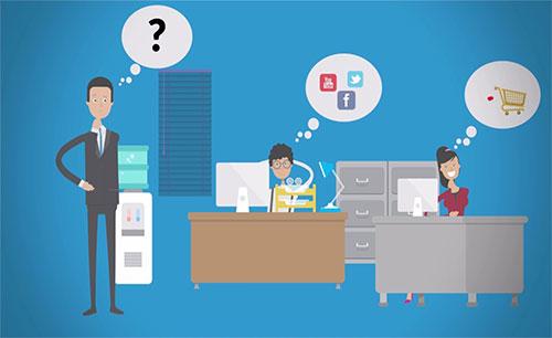 دانلود نرم افزار EduIQ Net Monitor for Employees Professional