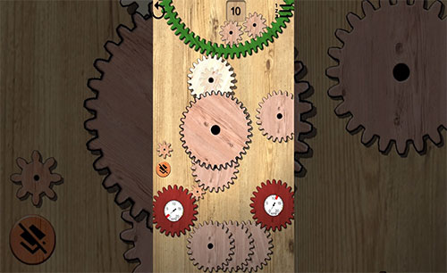 Gears Logic Puzzles Cover Center