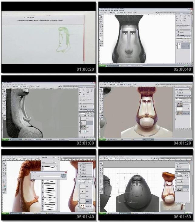 دانلود دوره آموزشی The Gnomon Workshop Character Design for Animation Part 1