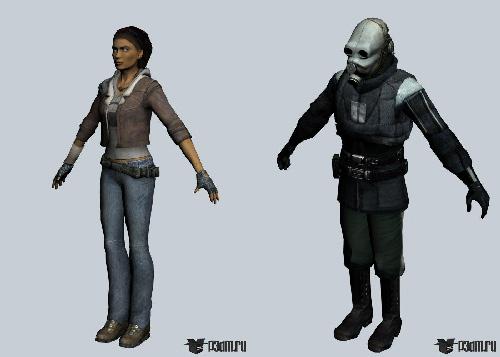 دانلود Half-Life 2 3D Models Pack