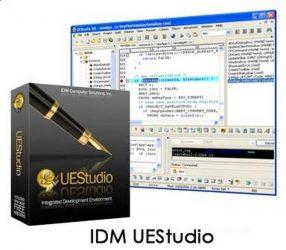 IDM UEStudio center