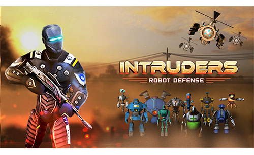 دانلود INTRUDERS Robot Defense جدید