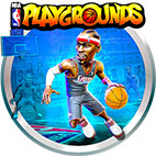 NBA Playgrounds Hot N Frosty logo