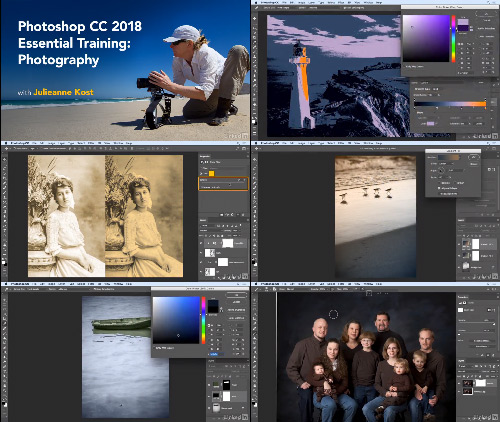 Photoshop CC 2018 Essential Training Photography center