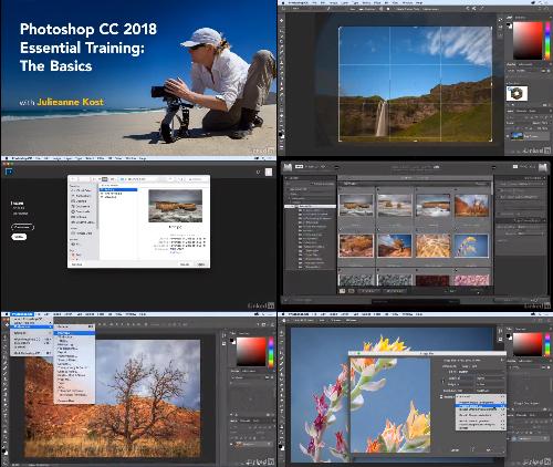 Photoshop CC 2018 Essential Training The Basics center