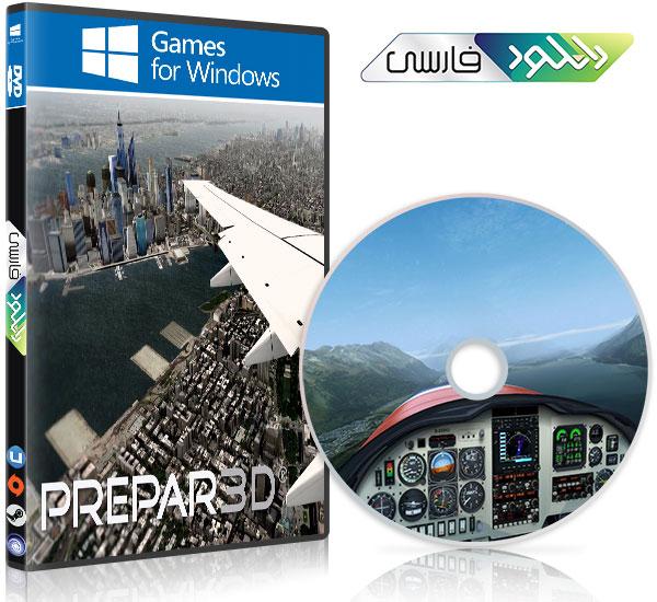 دانلود بازی Prepar3D v4 Professional Plus v4 0 23 2146