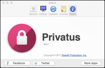 Privatus 5.0.7 MacOS