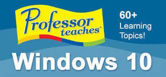 Professor Teaches Windows 10 center