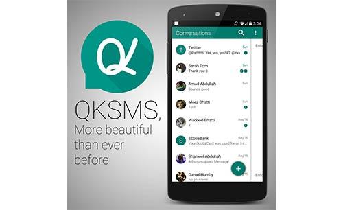 دانلود نرم افزار QKSMS برای اندروید