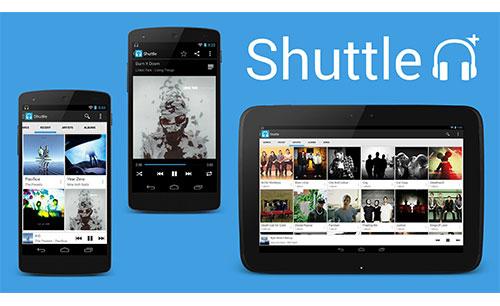 دانلود نرم افزار Shuttle+ Music Player برای اندروید