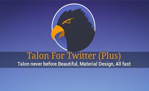 دانلود نرم افزار Talon for Twitter plus