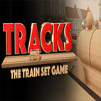 Tracks The Train Set Game Logo
