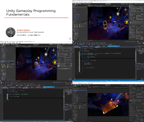 Unity Gameplay Programming Fundamentals center