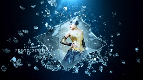 Videohive Blue Crystal Pack center