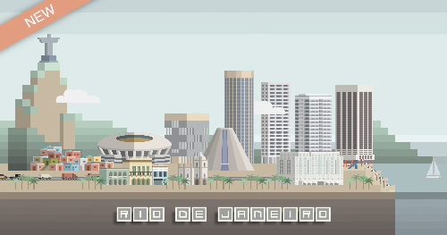 Videohive Cities Animation V2 center