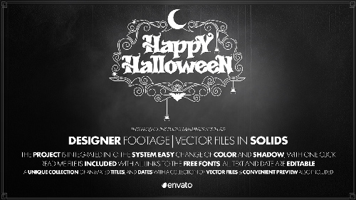 Videohive Halloween II center