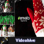 Videohive New Year Card logo