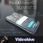 Videohive Phone X Mockup Kit logo