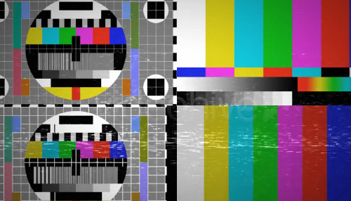 Videohive Ultimate Bad TV Signal Pack center