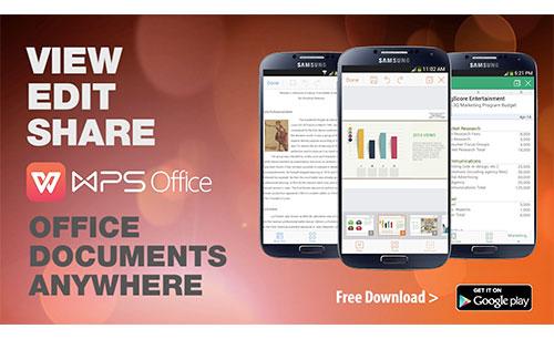 دانلود WPS Office + PDF جدید