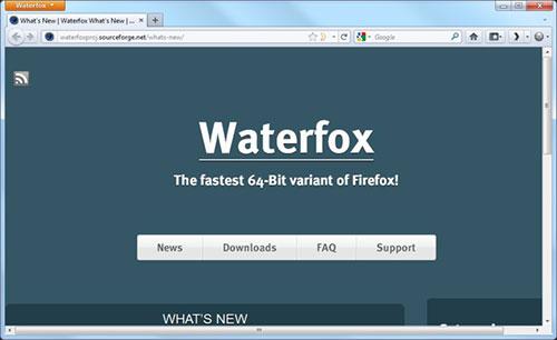 دانلود نرم افزار Waterfox
