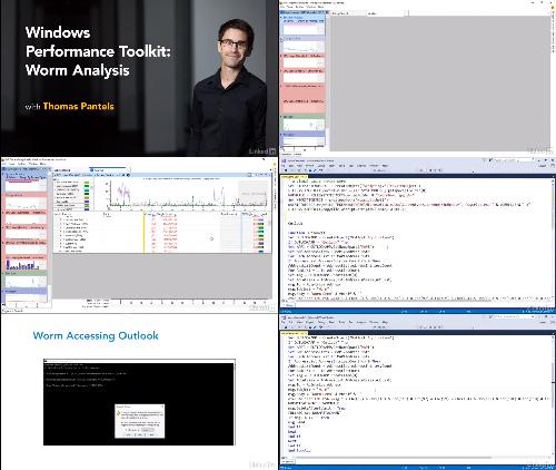 Windows Performance Toolkit Worm Analysis center