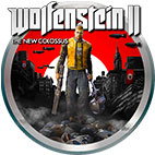 Wolfenstein 2 New Colossus logo