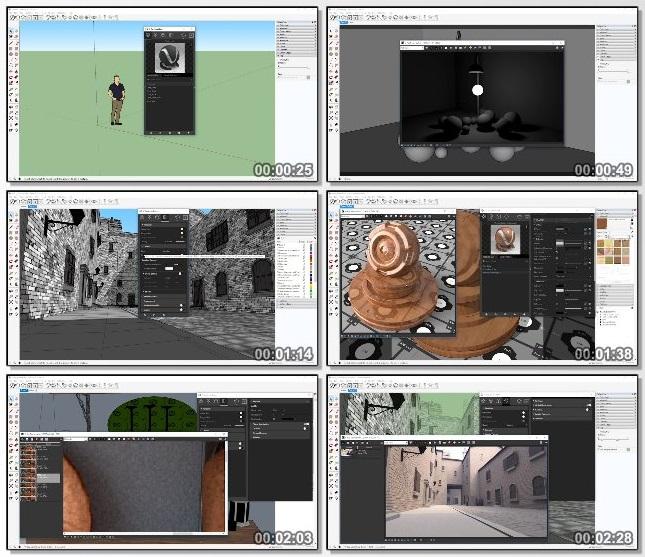 دانلود دوره آموزشی SketchUp: Rendering with V-Ray 3 از Lynda
