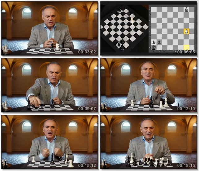 دانلود دوره آموزشی Masterclass - Garry Kasparov Teaches Chess
