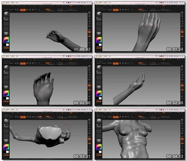 دانلود فیلم آموزشی Conceptualizing 3D Horror Models in ZBrush