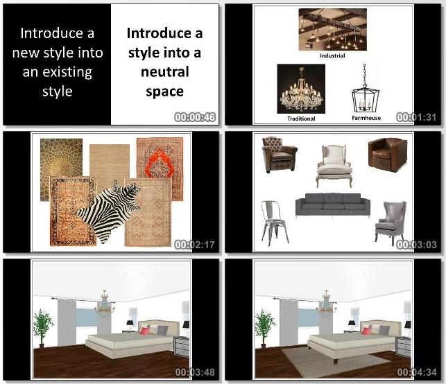 دانلود دوره آموزشی How to Work with Interior Design Styles Like a Pro از Udemy