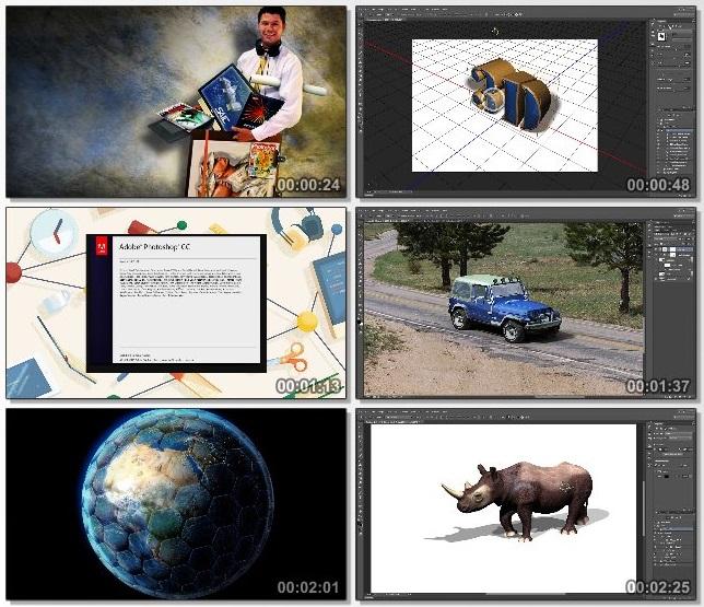 دانلود فیلم آموزشی Mastering 3D in Adobe Photoshop از Tutsplus